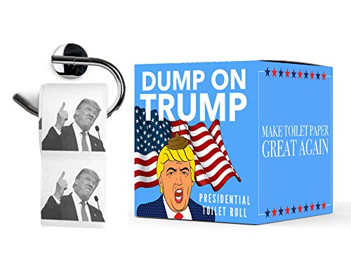Papel Higinico Donald Trump | Dump on Trump Toilet Paper | WC Rollo Broma