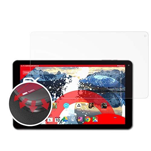 atFolix Schutzfolie kompatibel mit Blaupunkt Atlantis 1001A / 1010A Folie, entspiegelnde & Flexible FX Bildschirmschutzfolie (2X)