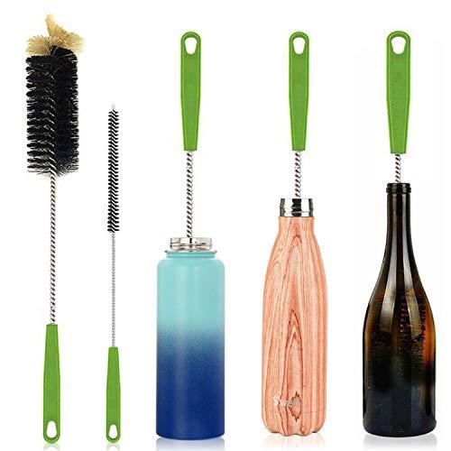 Cepillo de Limpieza de Botellas largas Cepillo Extra Largo de 17