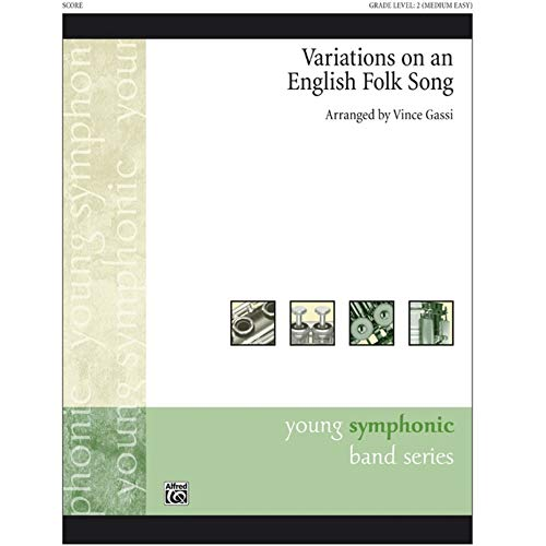 Alfred 00-33855 Variaciones sobre una canci-n popular Ingl-s - Music Book