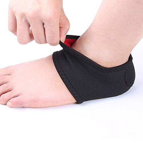 RUNWEI Calcetines de protección de Tacones para Hombres y Mujeres, Fascitis Plantar, Soporte de la Cubierta del Arco de pie Plano Puede aliviar el Dolor del pie (Size : M)