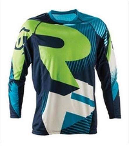 PYMNDZ Enduro Jeresy Downhill Jersey MTB Offroad Long Motorcycle Long Motocross Racing Riding Cycling Jersey Long T-Shirt-XXXL