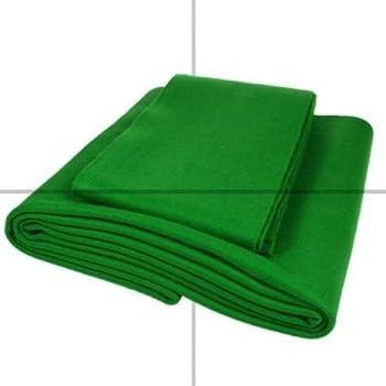 Velocità e biliardo, 6 x 3 & cuscini, per letto matrimoniale, colore: verde