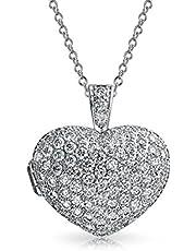 Medallon Corazón Grande Con Zc Paviementado Aromaterapia De Aceite Esencial Difusor De Perfume Para Mujer Y Adolescente