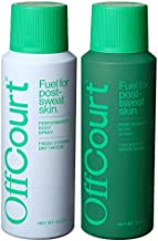 OffCourt Body Spray Parent (Citron + Driftwood and Fig + White Musk, 3.4 Ounce (Pack of 2))