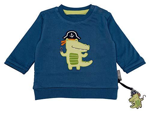 Sigikid Baby-Jungen Wendeshirt, Sweatshirt, Mehrfarbig (Sellar 559), (Herstellergröße: 80)