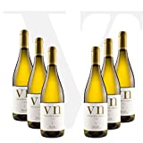 Valtravieso Nogara D.O Rueda Vino Blanco variedad Verdejo 100% Lote de 6 Botellas 0.75l/U