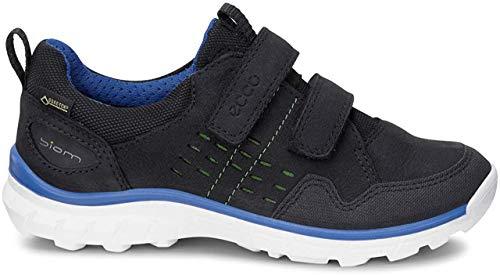 Ecco Biom Trail Kids, Zapatillas de Deporte Exterior Niños, Negro (BLACK/BLACK/WHITE51422), 34 EU