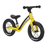 Stone Home Bicicleta Equilibrio Los niños Bicicleta de Equilibrio de Peso Ligero de aleación de magnesio Ciclo bebé Caminando Aprendizaje Mini bicis de 12 Pulgadas de la Bicicleta por 2-6 años