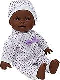 The New York Doll Collection 11 Pulgadas/28cm Suave Cuerpo Africano Americano Recién Nacido Bebé Muñ...