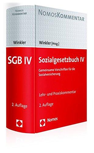 Sozialgesetzbuch IV: Gemeinsame Vorschriften für die Sozialversicherung