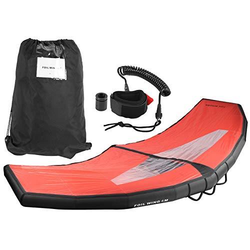 VGEBY ala Inflable de Mano, Juego de inflado de Tabla de Surf de Cometa Inflable Ligera para Deportes acuáticos, Equipo de Surf(L)