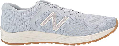 New Balance Women's Fresh Foam Arishi V2 Running Shoe, Light Cyclone/Sea Salt/Champagne Metallic, 10.5 M US