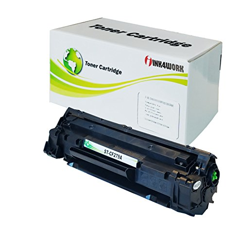 INK4WORK Black Replacement for HP CF279A 79A Toner Cartridge for Laserjet Pro M12a, M12w, MFP M26a, M26nw Printer