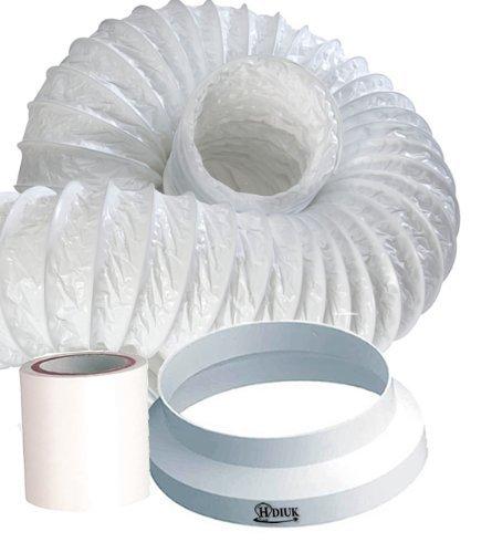 HDIUK 6m Portable Air Conditioner Hose Extension kit (6 Metre Kit)