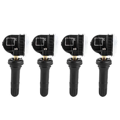 Aukson Sensori di monitoraggio della Pressione dei Pneumatici 4 Pezzi TPMS 2036832 Sostituzione Adatta per Ecosport/Fiesta/Focus