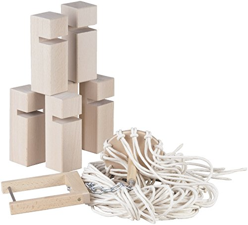 HABA 134950 Lernspielzeug Wehrfritz Gruppe Zusammenarbeit Bauspiel für Kinder, Körperliche Entwicklung & Team Play, für Kinder