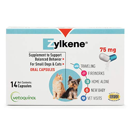 Vetoquinol Zylkene Behavior Support Capsules
