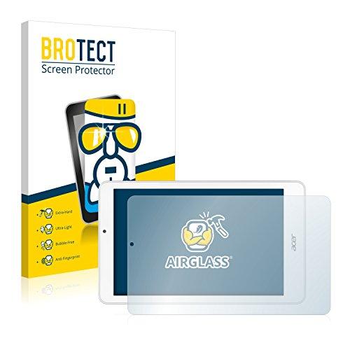 BROTECT Panzerglas Schutzfolie kompatibel mit Acer Iconia Tab 8 W1-810 - AirGlass, extrem Kratzfest, Anti-Fingerprint, Ultra-transparent