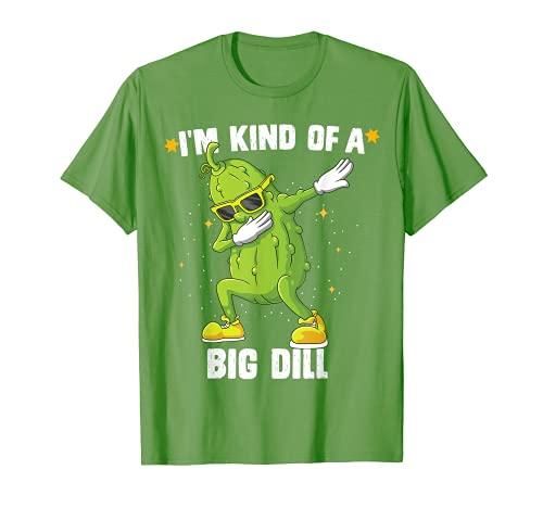 Soy una especie de gran eneldo pepino de Halloween Camiseta