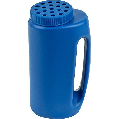 Home-X Ice Melt Salt Dispenser, Grass Seed Spreader, Plastic Garden Container