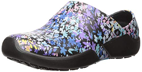 Anywear Women's Journey Health Care Professional Shoe, True Colors, 7.0 Medium US