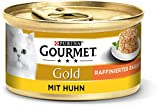 Gourmet Gold Katzenfutter Raffiniertes Ragout Huhn