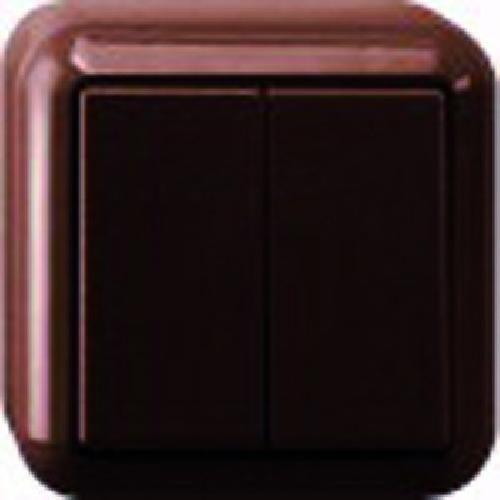 Merten MEG3115-8717 AP-Serienschalter braun