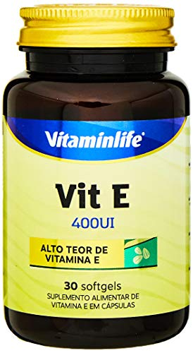 Vit E 400UI - 30 Softgels - Vitaminlife, VitaminLife