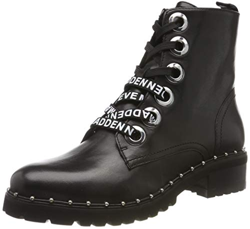 Steve Madden Tess Bootie, Bottes Classiques Femme, Noir (Black Leather 017), 36 EU
