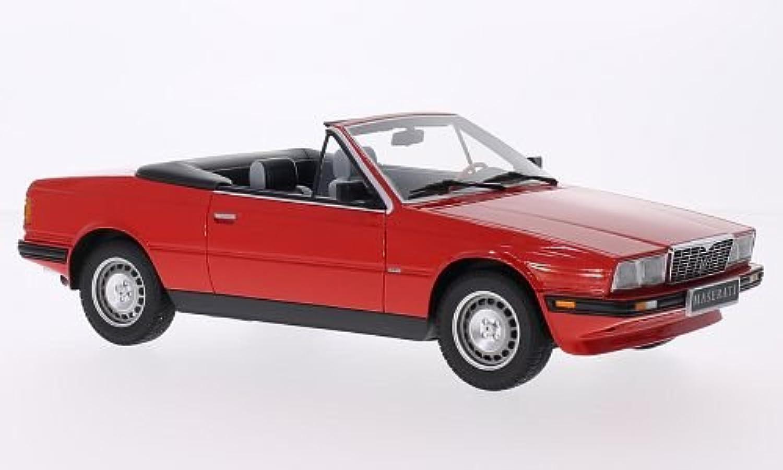 Maserati Biturbo Spyder, rot, 1986, Modellauto, Fertigmodell, Minichamps 1 18