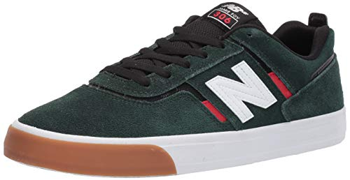 New Balance Men's 306, Green/Red, 7.5 D US