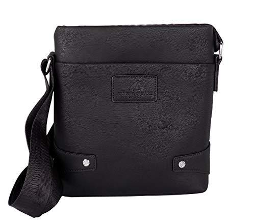 Armata di Mare Men's Shoulder Bag Black 26 x 22 x 5 cm BAG 667 LARGE