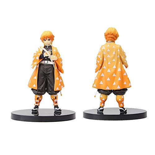 6.3Inch Anime Figure - Demon Slayer Kimetsu No Yaiba Japanese Action Figures Cute Kamado Nezuko Statues Figurine Car Dashboard Home Office Decoration Ornaments Anime Collectible Model Toy Gifts