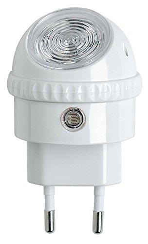 OSRAM - Veilleuse Secteur LED Lunetta - 220-240V - Capteur de luminosité - Orientable à 360° - 52lm