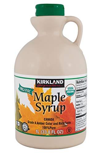 Kirkland Signature 100% Maple Syrup Dark Amber 338 fl oz