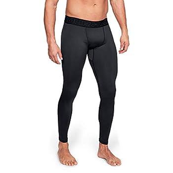 Under Armour Men s ColdGear Compression Leggings Black  001 /Charcoal Large