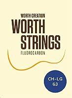 Worth Strings CH-LG ウクレレ弦 クリアヘビー Low-G 63インチ フロロカーボン
