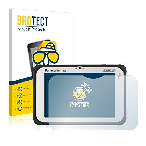 BROTECT 2X Entspiegelungs-Schutzfolie kompatibel mit Panasonic Toughpad FZ-B2 Bildschirmschutz-Folie Matt, Anti-Reflex, Anti-Fingerprint