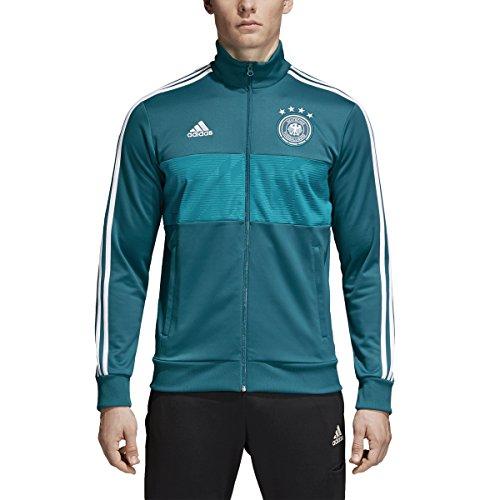 Adidas – Camiseta de fútbol con 3 Rayas para Hombre, Color Verde, Talla pequeña