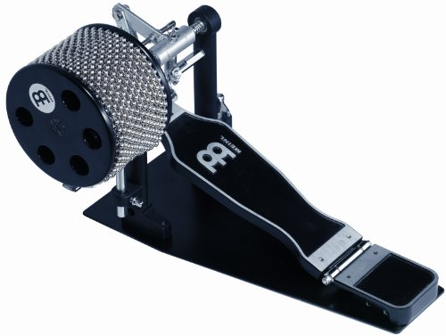 Meinl Percussion FCA5-L Foot Cabasa (Large), silver/black