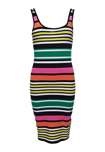 Superdry Miami Bodycon Dress Vestido, Multicolor (Multi Stripe Nz4), M (Talla del Fabricante:12) para Mujer