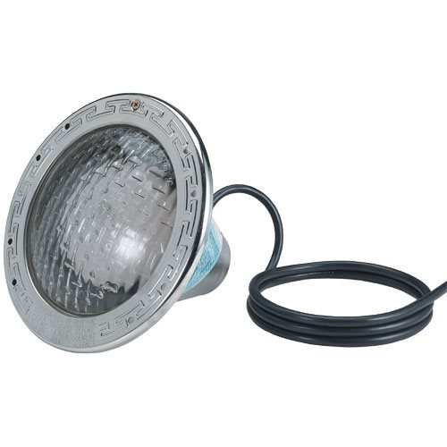 Price comparison product image Pentair 78458100 Amerlite Underwater Incandescent Pool Light with Stainless Steel Face Ring,  120 Volt,  50 Foot Cord,  500 Watt