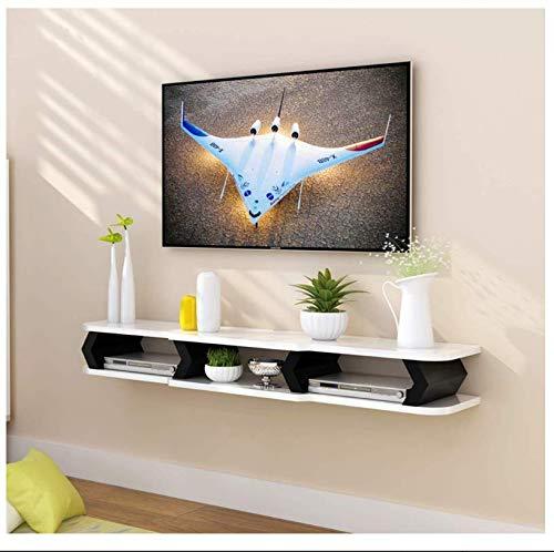 Schwimmdock Regal Schwimmendes Regal Wand TV Schrank Wand DVD/Blu-ray-Player-Hintergrund-Wand Satelliten-TV Box Kabelbox Mounted