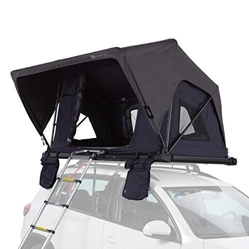 Qeedo Freedom Light Dachzelt für 2 Personen (225 x 135 x 28cm), extra leichtes Autodachzelt mit Softcover
