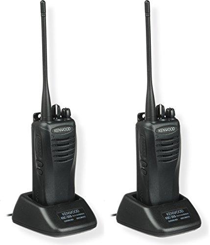 Kenwood TK-3402U16P ProTalk 5 Watt Two-way Radio, UHF, 16 Channels, Black Color, 2-Pack