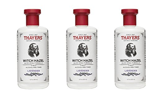 THAYERS Lavender Witch Hazel fAjtpe, 12 Fluid Ounce, (Packaging May Vary) (Pack of 3)