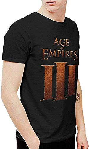 Mens Funny Age Empires T Shirt Washed Denim Hat Casquette Black,Black,L