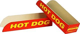 Récipient à emballer soi-même - Boîte à hot dog - 50 unités - à emporter