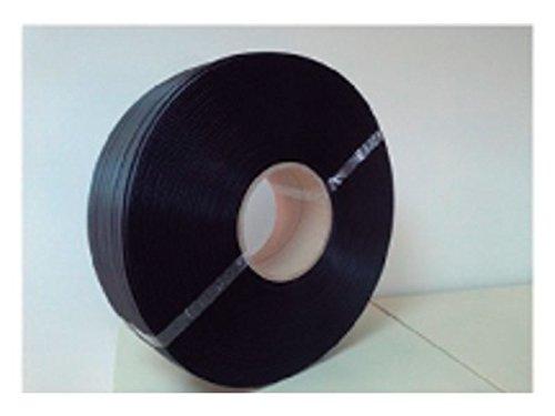 Sin Marca 159748 - Rollo de fleje en polipropileno, 13 mm, color negro